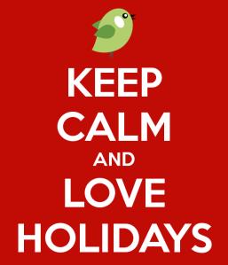 Keep Calm e Buone vacanze